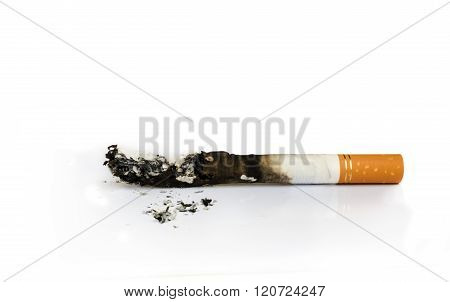 Close Up Of Cigarette.