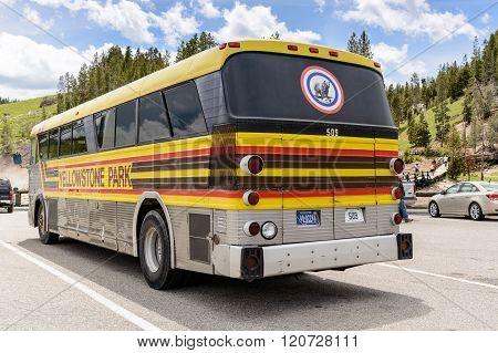 Yellowstone Park Tour Bus