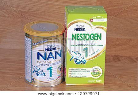 Nestle NAN and Nestle Nestogen