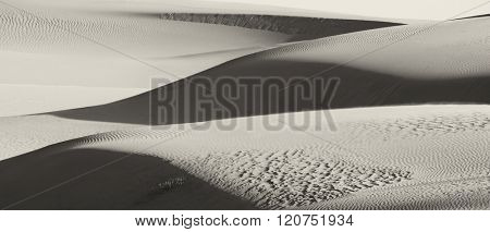 Beautiful Image Of the Sand Dunes of White Sands new mexico