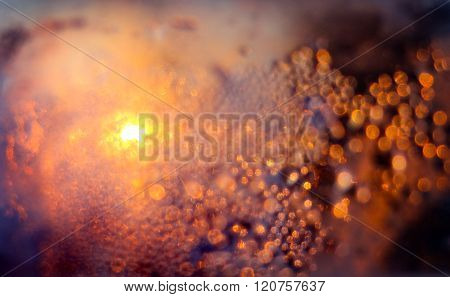 Wet Abstract Background