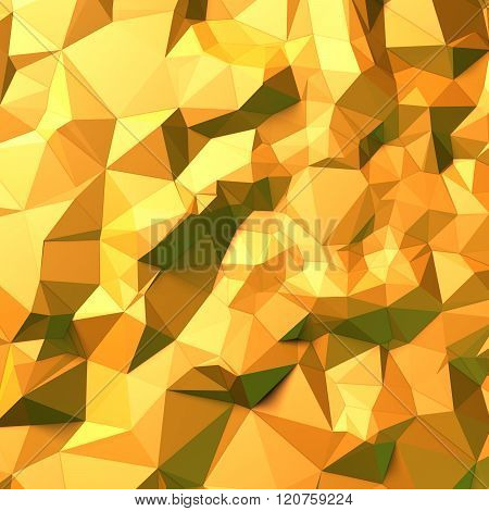 Yellow background of triangles