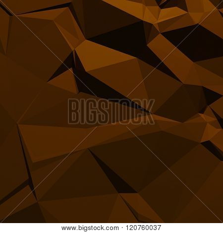 brown background of triangles