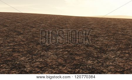 Huge Drought Plain Global Warming And Climate Change