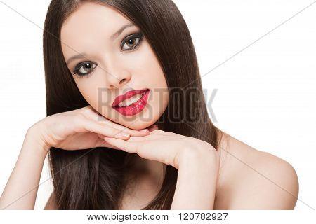 Gorgeous Makeup Girl.