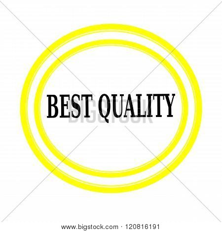 BEST QUALITY black stamp text on white backgroud