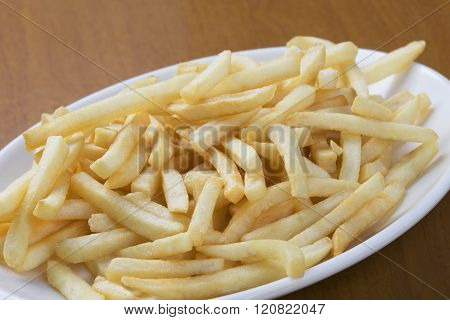 Delicious Shoestring Style French Fries