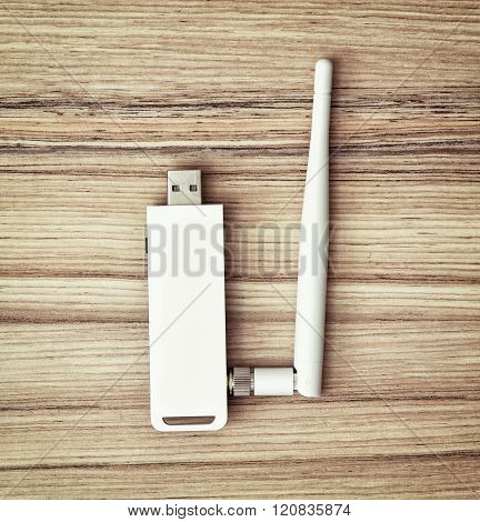 Usb Wifi Module For Pc With Antenna