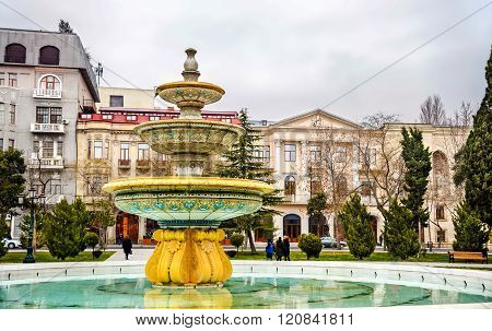 Sahil Bagi park in Baku