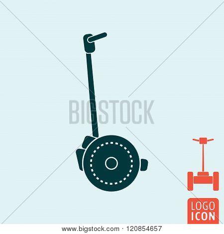 Segway Icon Isolated
