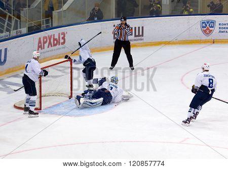 I. Nalimov (1) Miss A Goal