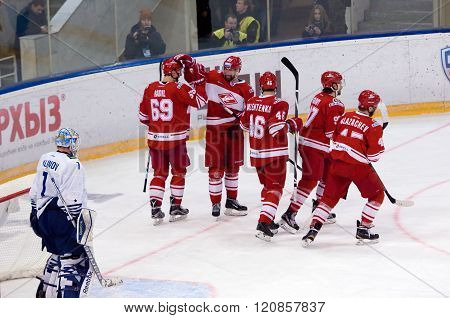 I. Nalimov (1) Miss A Goal And Dissapointed