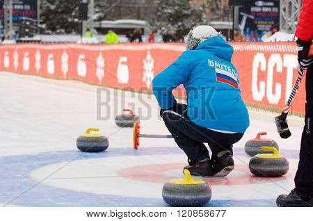 Curling Player V. Telezhkin