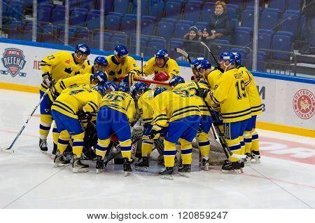 Sweden Team Rejoice