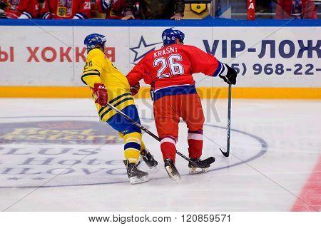 J. Krasny (26) Vs W. Lindstrom (20)