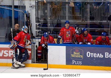 Czech Team Bench