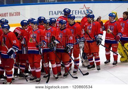 Czech Team Rejoice