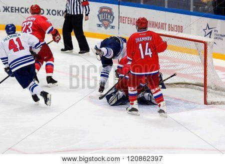 A. Zhamnov (14) Defend The Gate