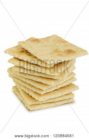 Stack Of Saltine Crackers