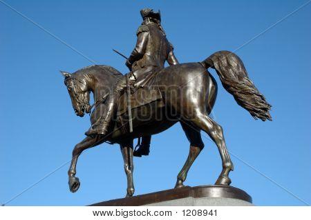 George Washington Statue, Public Garden, Boston Common, Boston, Ma