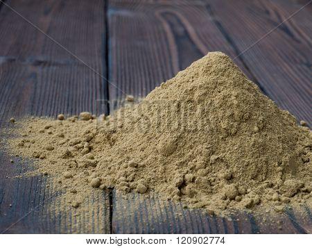 Henna Powder Pile