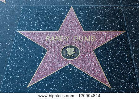 Randy Quaid Hollywood Star