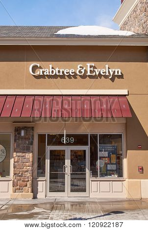 Crabtree And Evelyn Outlet.