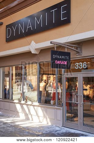 Dynamite Outlet.