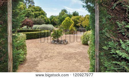 Hedge Maze: Window to the Gardens