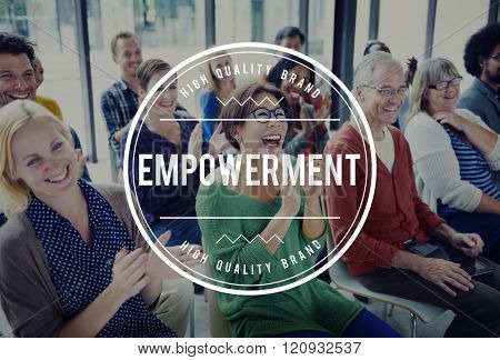 Empowerment Empower Empowering Improvement Concept