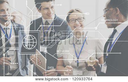 Technology Networking Data Digital Concept