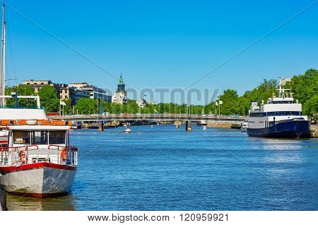Cityscape Of Turku. Finland