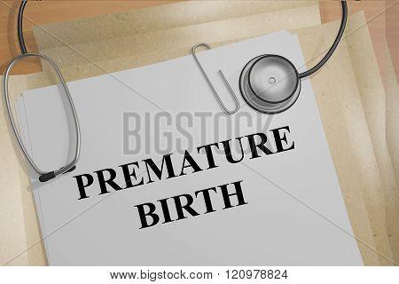 Premature Birth Concept