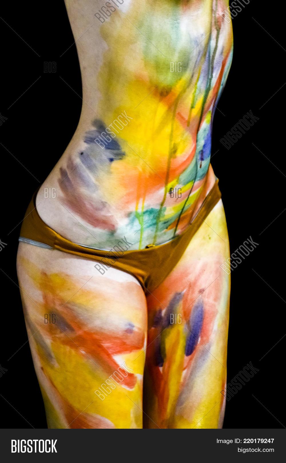 Body Art Drawing On Image Photo Free Trial Bigstock