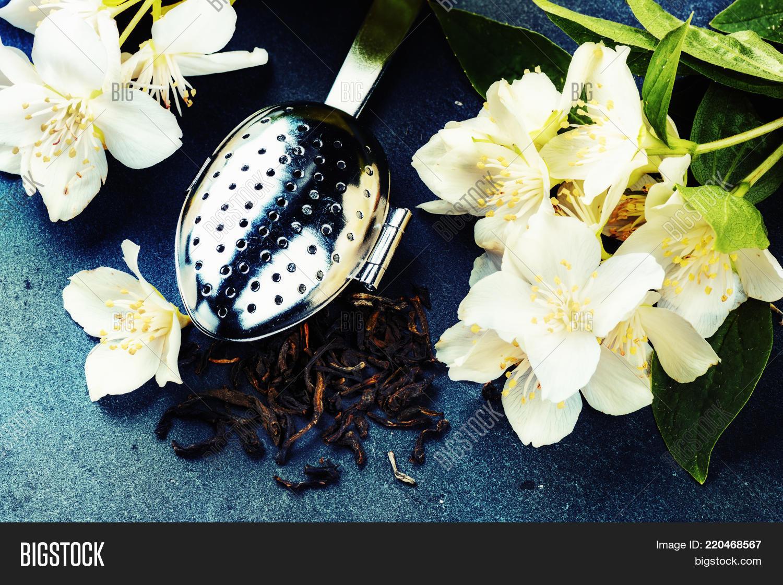 Tea Infuser Spoon Dry Image Photo Free Trial Bigstock