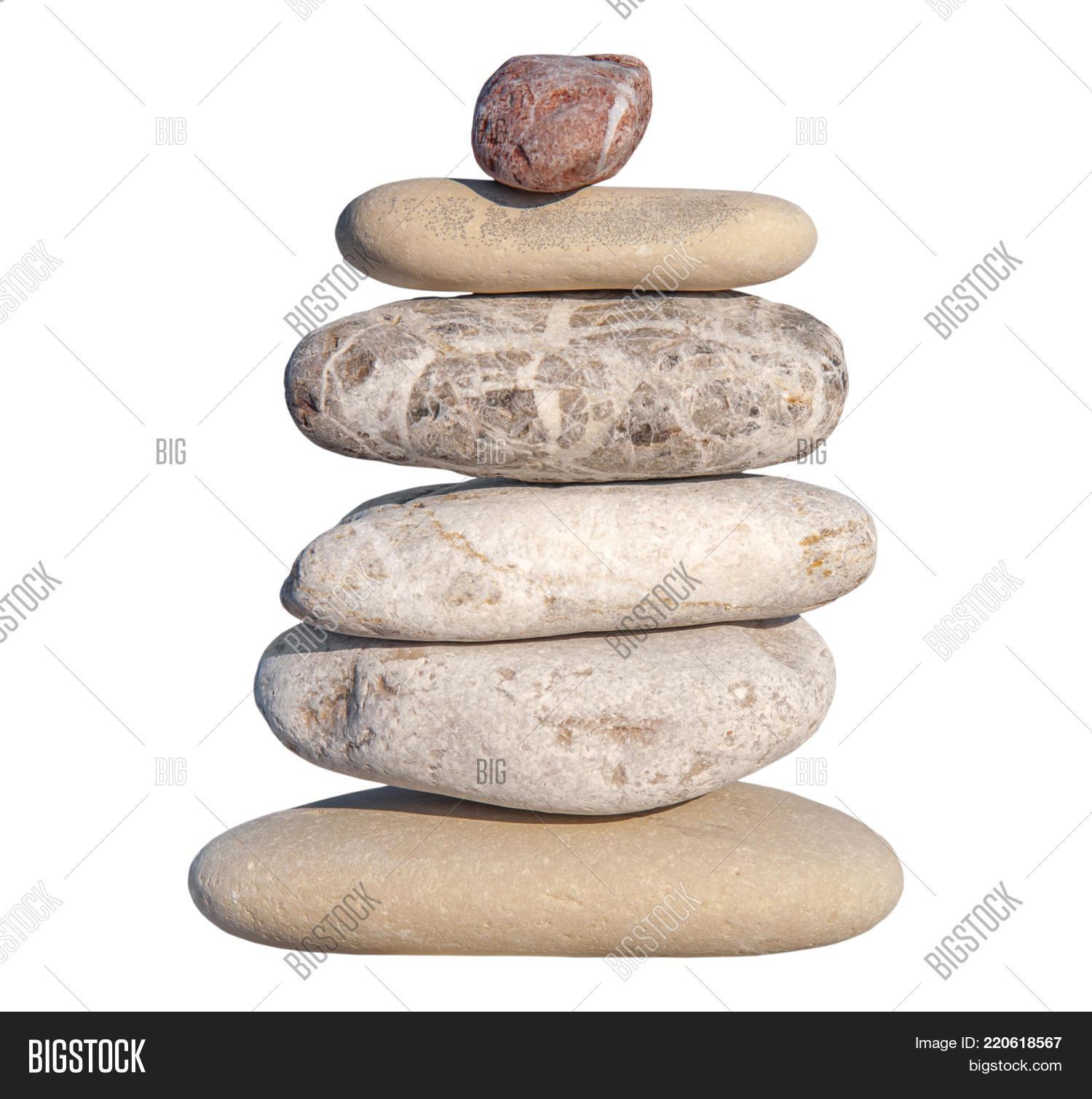Several Pebble Stone Image Photo Free Trial Bigstock