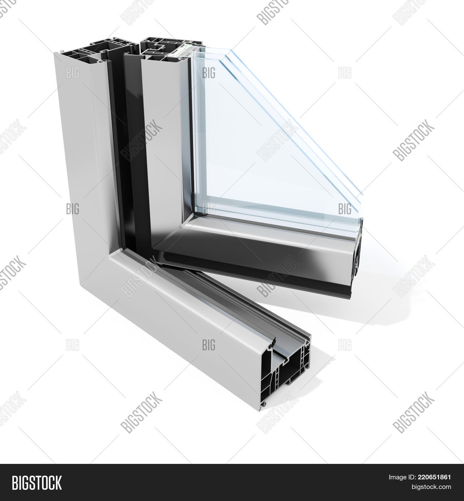3d Detailed Window Image & Photo (Free Trial) | Bigstock