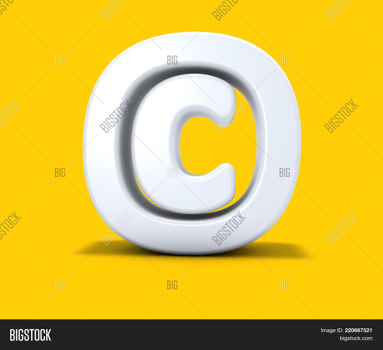 Copyright Symbol On Image Photo Free Trial Bigstock