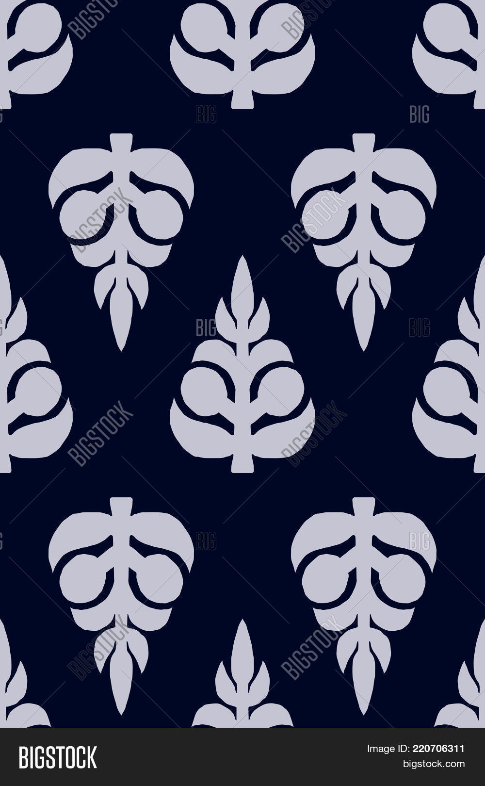 Vector Block Printed Vector Photo Free Trial Bigstock