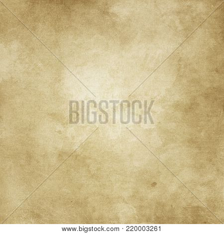 Grunge style paper background with stains and splats.