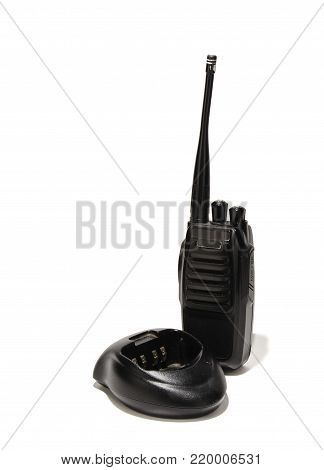 the transmitter is designed for talking at a great distance