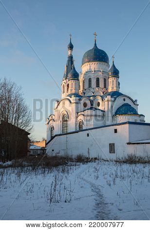 Cathedral of the Intercession of the Mother of God in Gatchina, Leningrad region, Russia