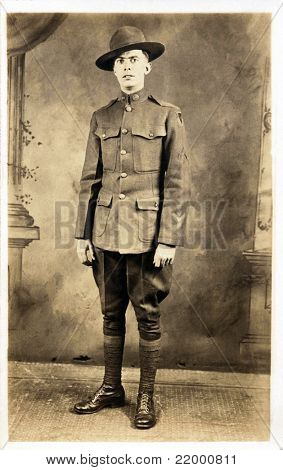 American Soldier from WWI