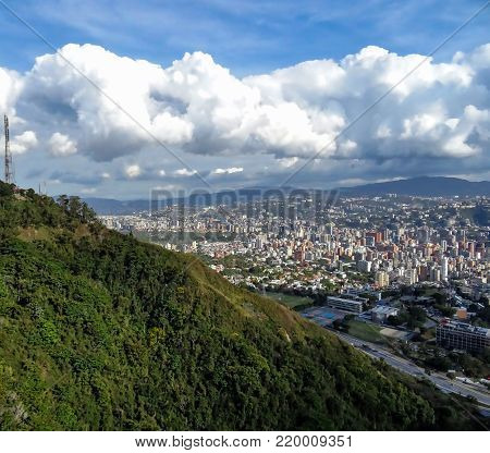 Travel photography - visiting the capital of Venezuela (Caracas).