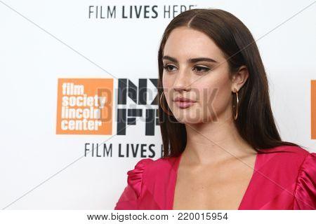 NEW YORK-OCT 1: Grace van Patten attends the screening of