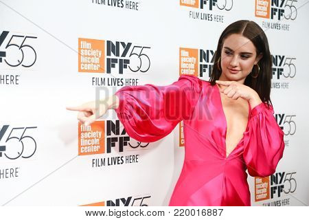 NEW YORK-OCT 1: Actress Grace van Patten attends