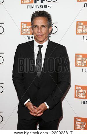 NEW YORK-OCT 1: Actor Ben Stiller attends the screening of