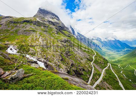 Geiranger is a small tourist village in Sunnmore region of Norway. Geiranger lies at the Geirangerfjord. poster