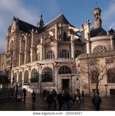 Saint Eustache Church Paris France