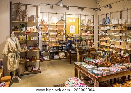 Netherlands - Deventer - November 26, 2017: Waar. Waar Is The Gift Shop For Special Sustainable Prod